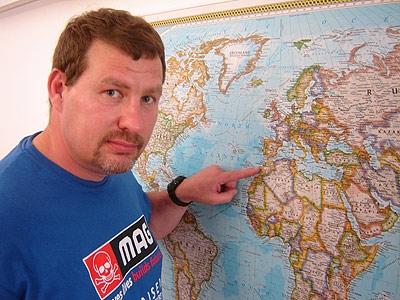 Phil Halford - MAG Desert Marathon